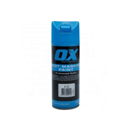 OX Trade Blue Spot Marking Paint 12pk